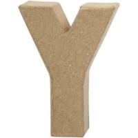 Papier-maché letter | Y | Klein