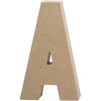Papier-maché letter | A | Groot