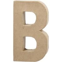 Papier-maché letter | B | Groot