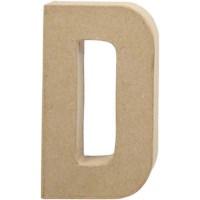 Papier-maché letter | D | Groot