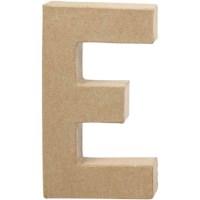 Papier-maché letter | E | Groot