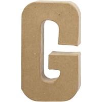 Papier-maché letter | G | Groot