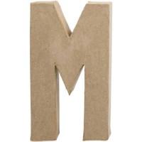 Papier-maché letter | M | Groot