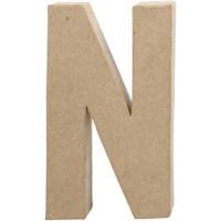 Papier-maché letter | N | Groot