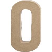 Papier-maché letter | O | Groot