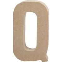 Papier-maché letter | Q | Groot