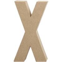 Papier-maché letter | X | Groot