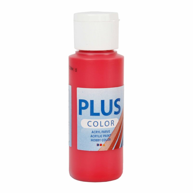 Acrylverf Plus Color | 60 ml | Berry Red