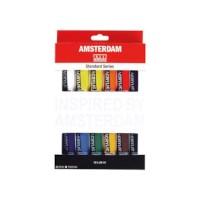 Acrylverf Amsterdam   Talens   set 12 tubes   20 ml per tube