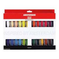 Acrylverf Amsterdam   Talens   set 24 tubes   20 ml per tube