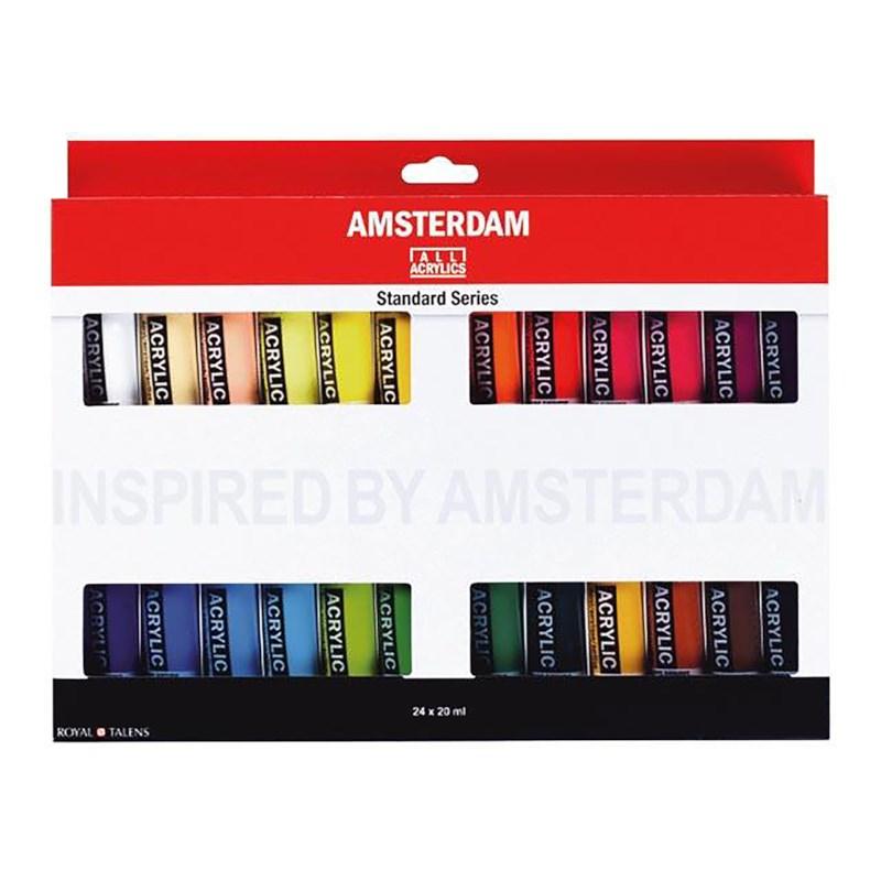 Acrylverf | Amsterdam | Assortiment | 24 x 20 ml