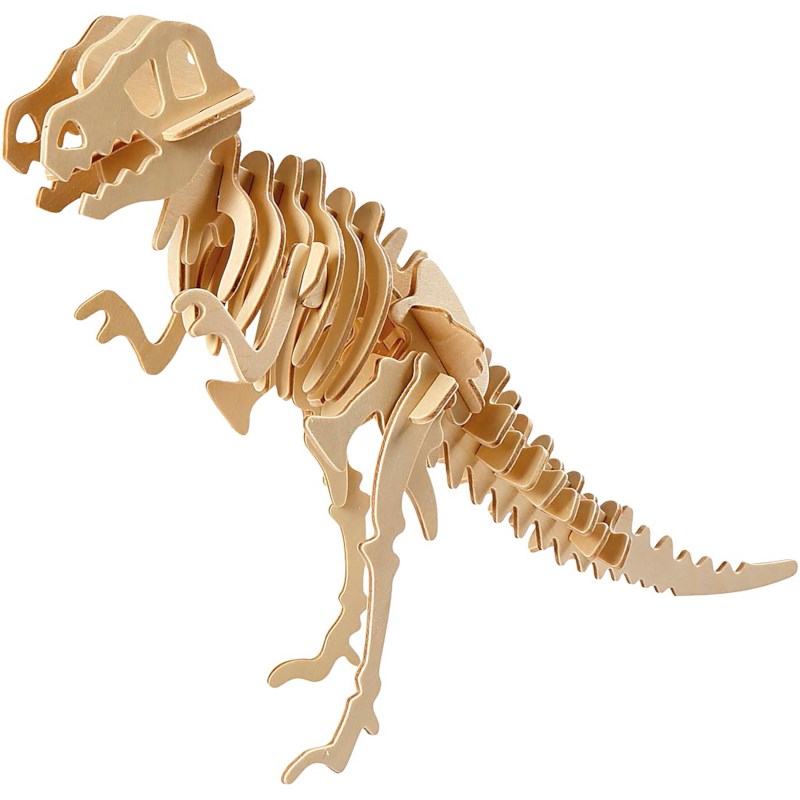 3D puzzel | Dino | Triplex | 33 x 8 x 23 cm
