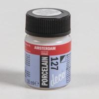 Porseleinverf Amsterdam deco | Talens | Flacon 16 ml | Gebroken wit dekkend 127