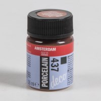 Porseleinverf   Amsterdam deco   Terra dekkend 437   16 ml
