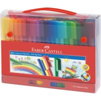 Viltstiften | Faber Castell | Connector | Set 60 stuks