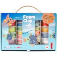 Foam Clay | Set à 28 stuks | Kleuren assorti