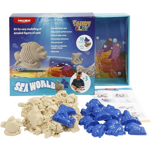 Modelleer zand   Sandy clay   Naturel   Sea world