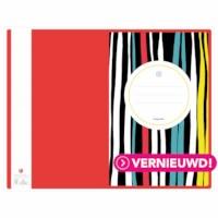 Schrift - kleurstrepen | Heutink | Liniatuur 42 lijnen | Per stuk
