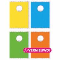 Schrift - vrolijke dots | Heutink | A4 | Liniatuur 35 lijnen | Per stuk