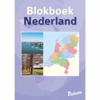 Blokboek aardrijkskunde Nederland