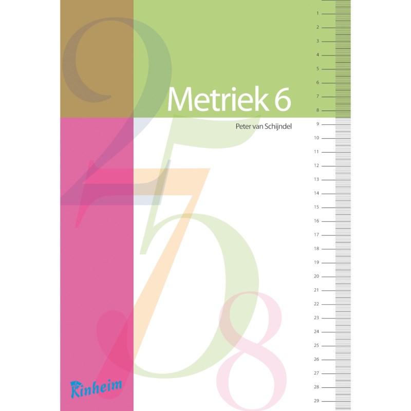 Blokboek Metriek stelsel voor groep 6