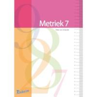 Blokboek Metriek stelsel voor groep 7