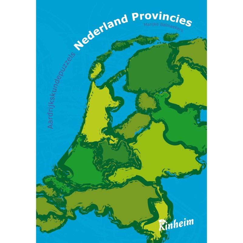 Aardrijkskundepuzzels Nederlandse provincies