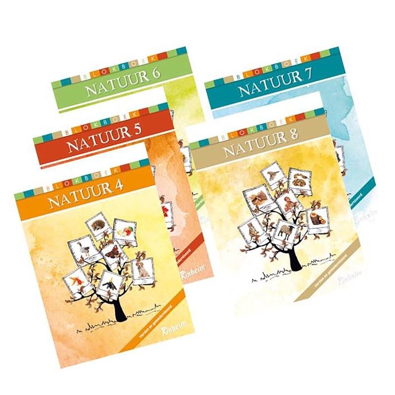 Blokboek natuur voor groep 6