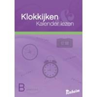 Werkboek Klokkijken en kalender lezen | Deel B | Groep 5-6