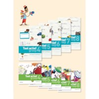 Spellingwerkboek 8A, Taal actief