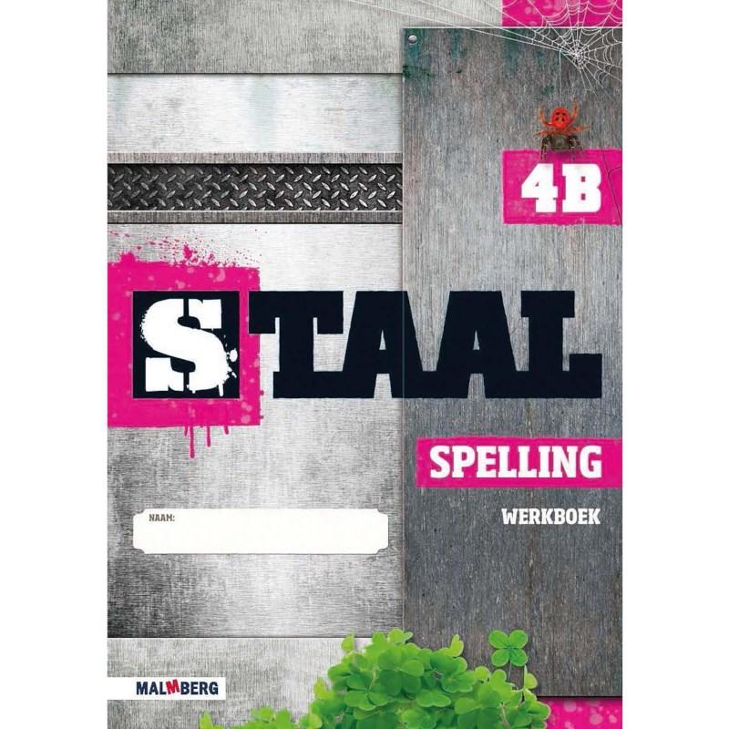 Werkboek spelling 4B, Staal