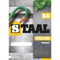 Werkboek spelling 8A, Staal