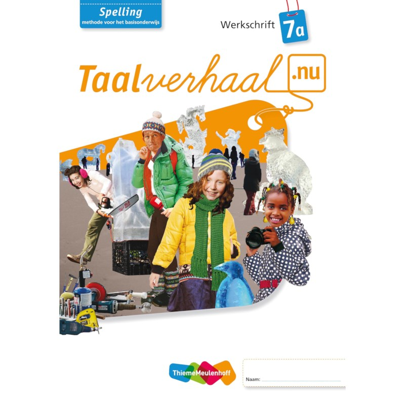 Spellingwerkboek 7A, Taalverhaal.nu