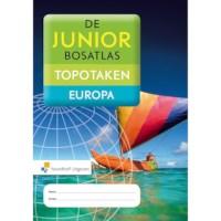 Topografiewerkboek Topotaken Europa