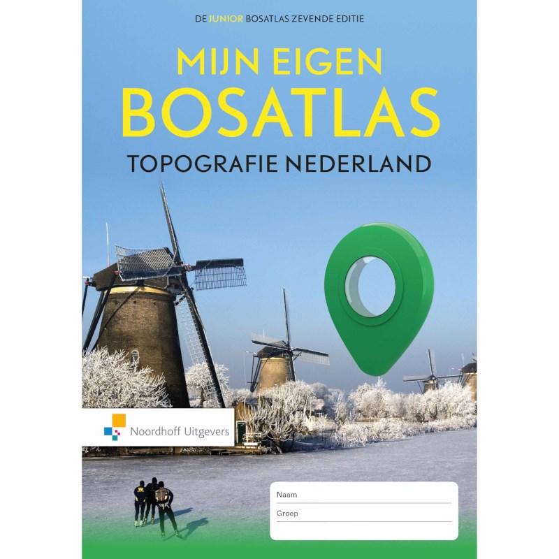 Mijn eigen Bosatlas | Topografie Nederland