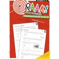 Raak! Redactiesommen | Vermenigvuldigen en delen | Groep 5-6