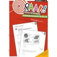 Raak! Redactiesommen | Vermenigvuldigen en delen | Groep 7-8