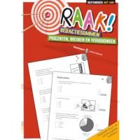 Raak! Redactiesommen | Procenten, breuken en verhoudingen | Groep 7-8