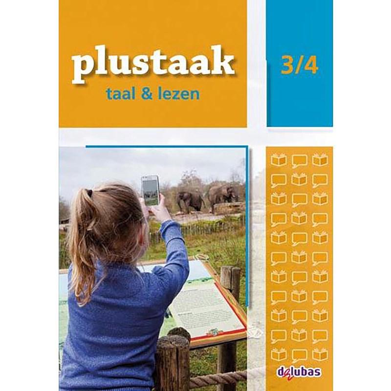 Werkboek 3/4, Plustaak - taal en lezen