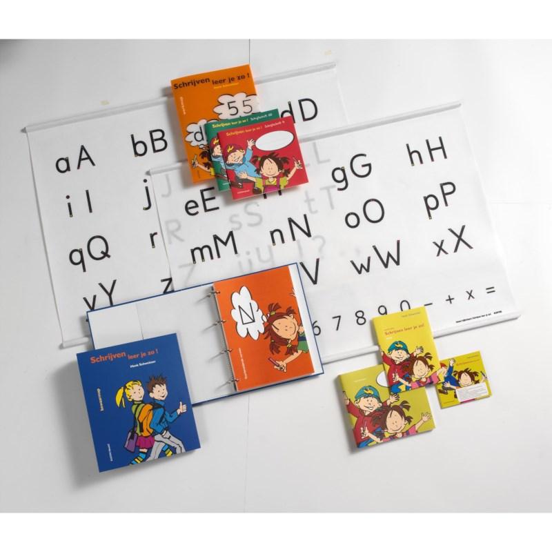Letterkaart 4, Schrijven leer je zo!