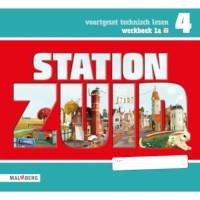 Leeswerkboek 1A, 3 ster voor groep 4, Station Zuid