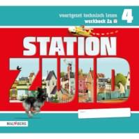 Leeswerkboek 2A, 3 ster voor groep 4, Station Zuid