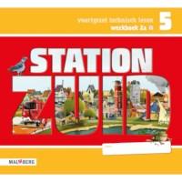 Leeswerkboek 2A, 3 ster voor groep 5, Station Zuid