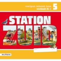 Leeswerkboek 2B, 3 ster voor groep 5, Station Zuid