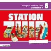 Leeswerkboek 1B, 3 ster voor groep 6, Station Zuid