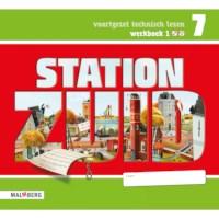 Leeswerkboek 1, 2/3 ster voor groep 7, Station Zuid
