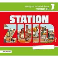 Leeswerkboek 2, 1 ster voor groep 7, Station Zuid