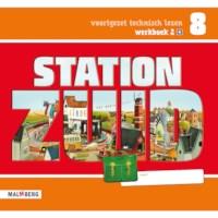 Leeswerkboek 2, 1 ster voor groep 8, Station Zuid