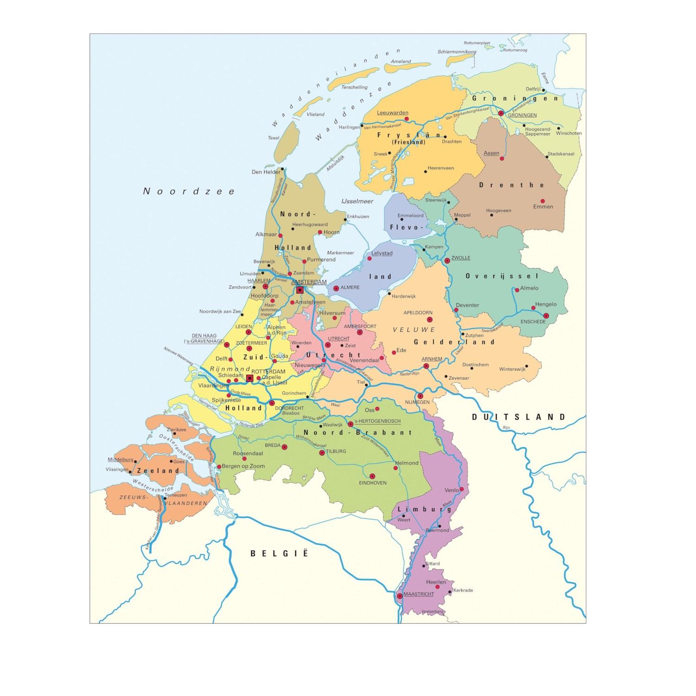 Tips Voor Het Leren Van Topografie