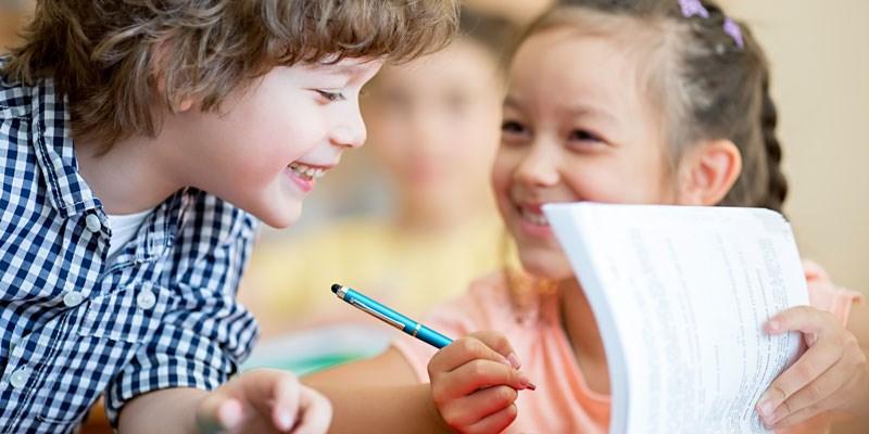 Leren schrijven begint met een goede potloodgreep